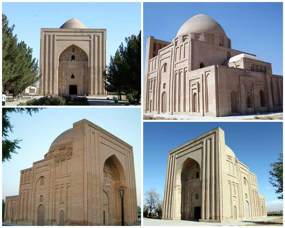 بناء هارونية (البقعة الهارونية) في مدينة مشهد
