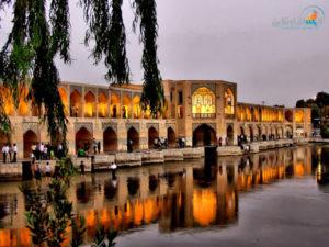 جسر خواجو في اصفهان