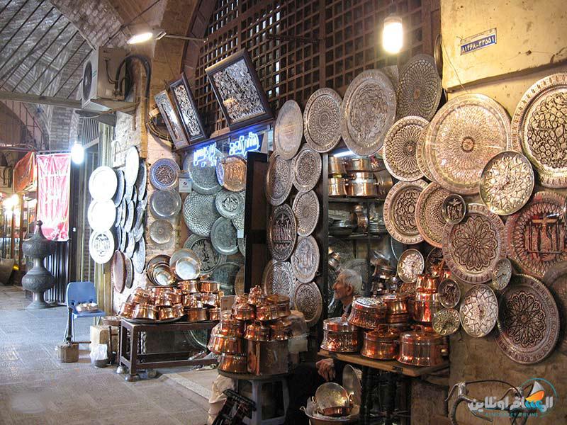 سوق القيصرية في اصفهان