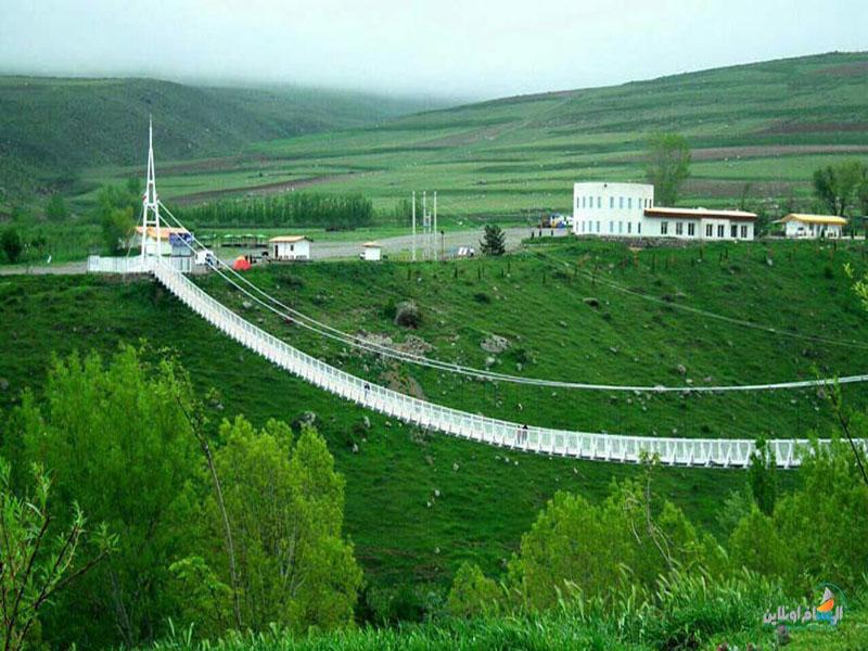جسر مشجين المعلق