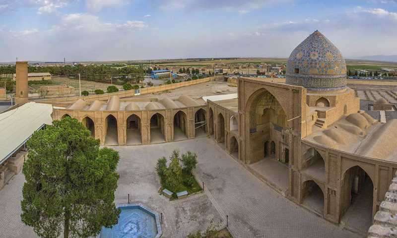 السياحة في إيران جامع ساوة (محافظة المركزية)