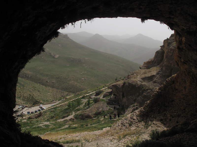السياحة في إيران كهف كرفتو (محافظة كردستان)-2