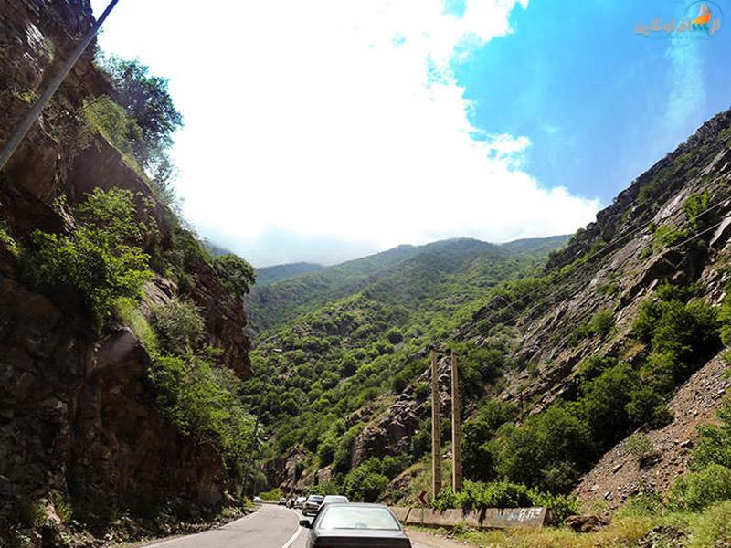 السياحة في طريق تشالوس