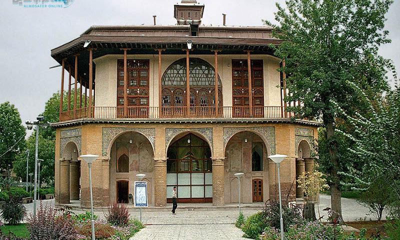 قصر جهلستون التاريخي (محافظة قزوين)