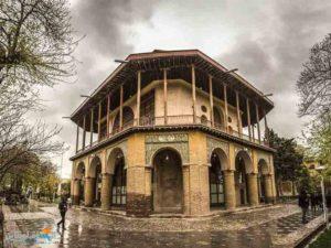 قصر جهلستون التاريخي محافظة قزوين