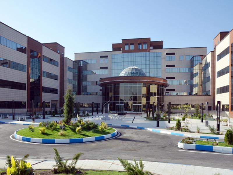 مستشفى في إيران