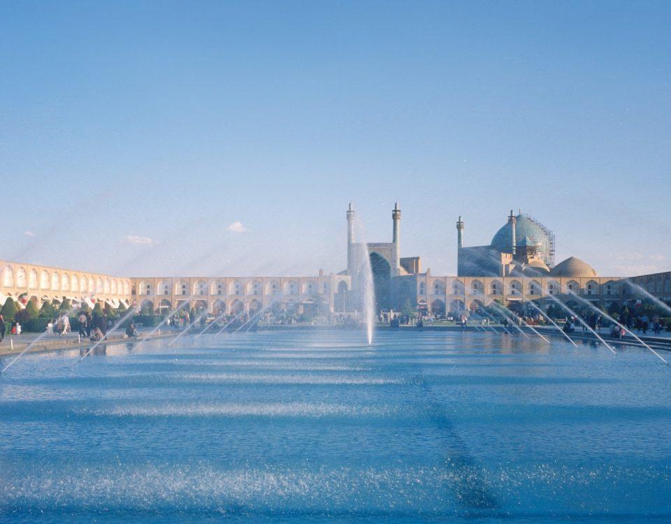 9- جامع العباسي جامع (الملكي) داخل ميدان نقش جهان في أصفهان:
