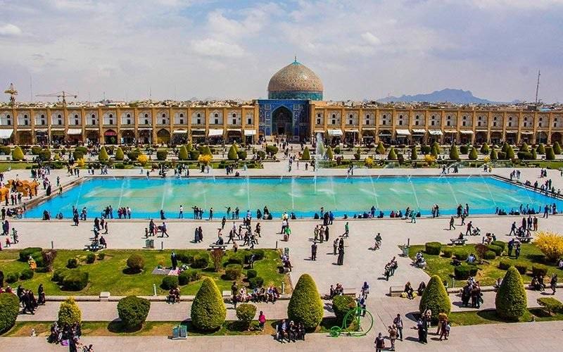 مركز مدينة اصفهان