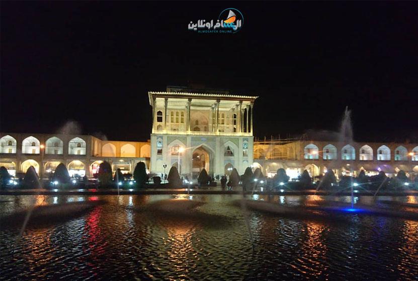 أجمل الأماكن في إيران -ساحة نقش جهان