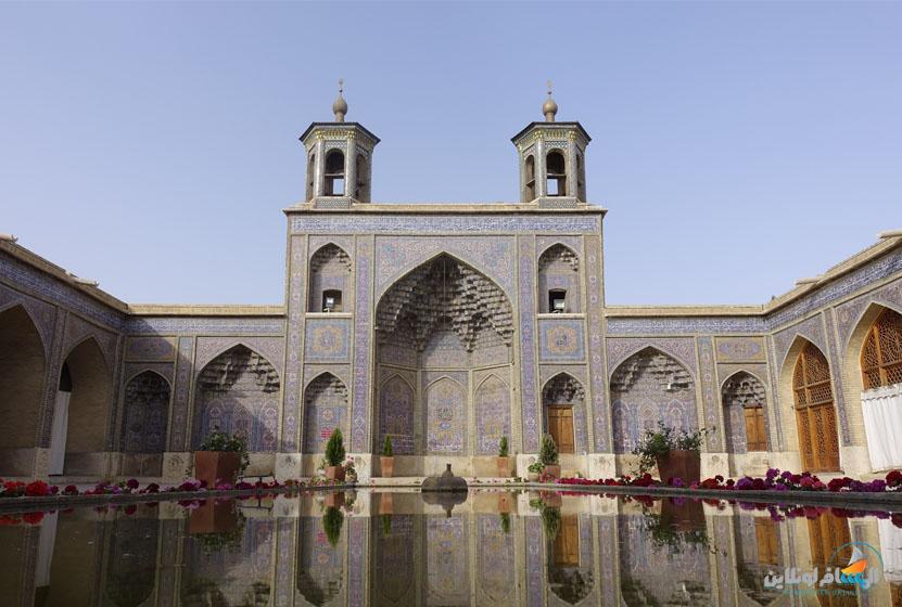 أجمل الأماكن في إيران -مسجد نصير الملك