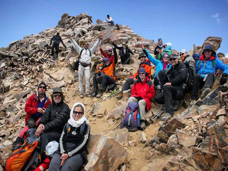 إيران هي واحدة من أكثر البلدان الجبلية في العالم