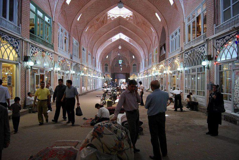 العمارة العظيمة في بازار وكيل ، شيراز