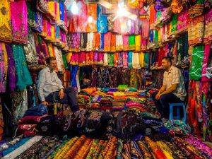البازارات الإيرانية المذهلة