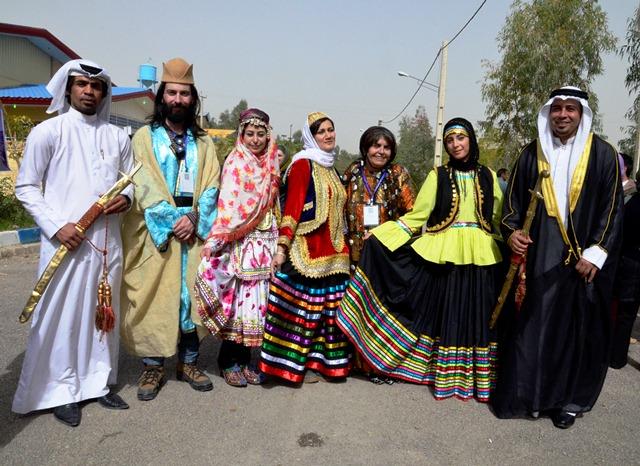 مجموعات مختلفة من العروق في إيران