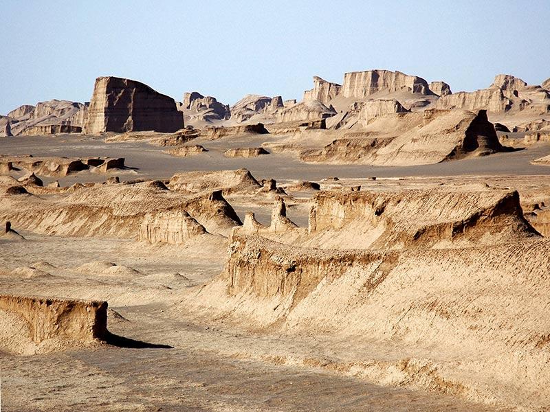 Dasht-e Lut ، موقع اليونسكو الطبيعي في إيران