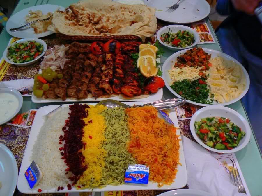 الاطعمة الايرانية