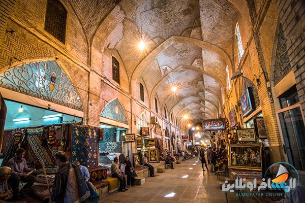 سوق في شيراز
