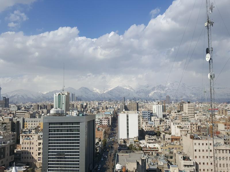 فندق هويزه في طهران ، فنادق تهران ، فندق في طهران رخيص ، افضل فنادق في إيران