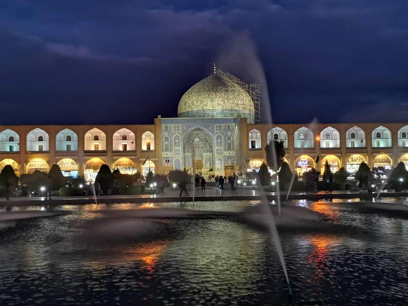 السياحة في نقش جهان أصفهان