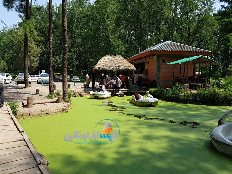 حديقة ماسولة الغابية في جيلان