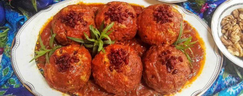 أطعمة إيرانية لذيذة