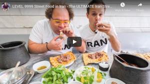 أكل الشوارع في مشهد