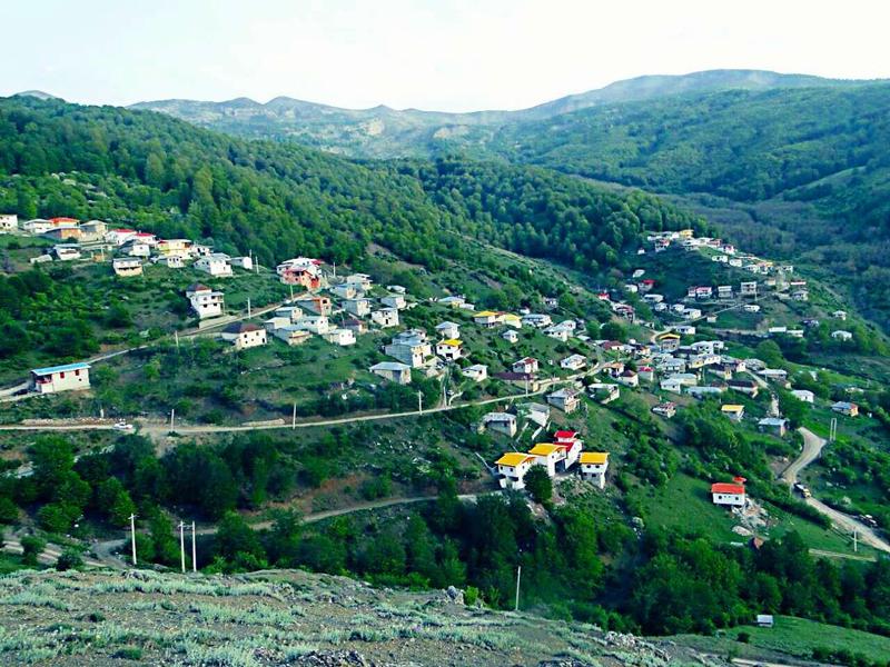برنت هي قرية ذات مناظر طبيعية في شمال إيران
