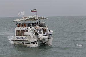 سفينة مايا الترفيهية في مدينة رامسر شمال ايران