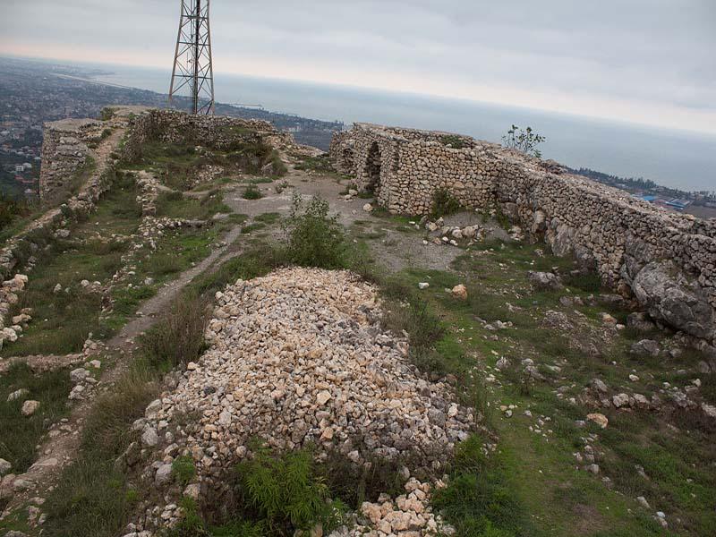 قلعة ماركوه في مدينة رامسر شمال إيران