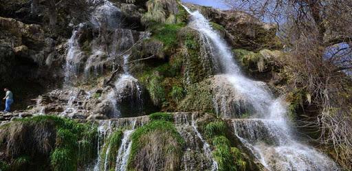 شلالات أزارك في رامسر