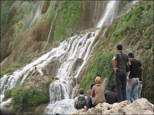 شلال إيج في مدينة رامسر شمال ايران