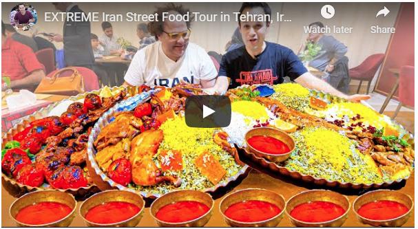 أفضل 7 أكلات الشارع في إيران!