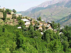 قرية أشكورات في مدينة رامسر شمال ايران