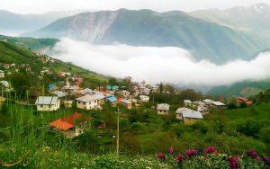 قرية كرسماسر(جرسماسر) في مدينة رامسر شمال إيران