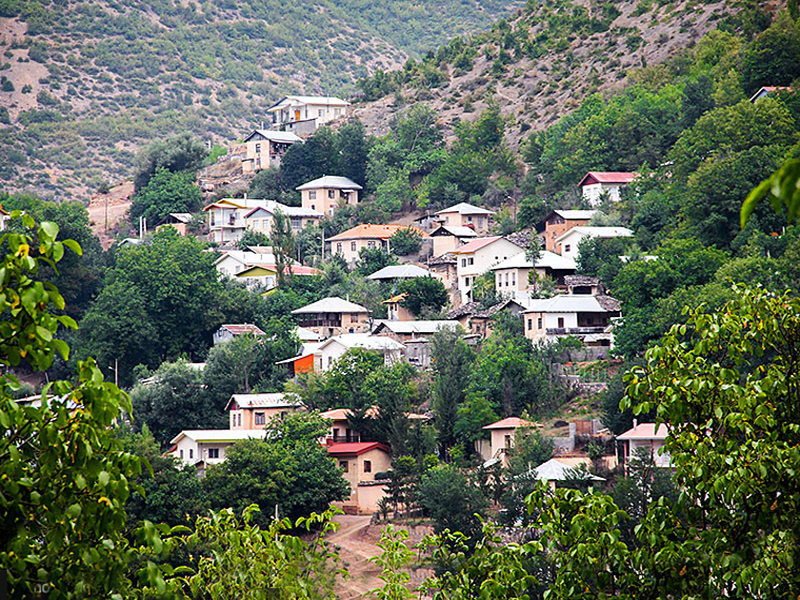 قرية كندلوس في شمال إيران