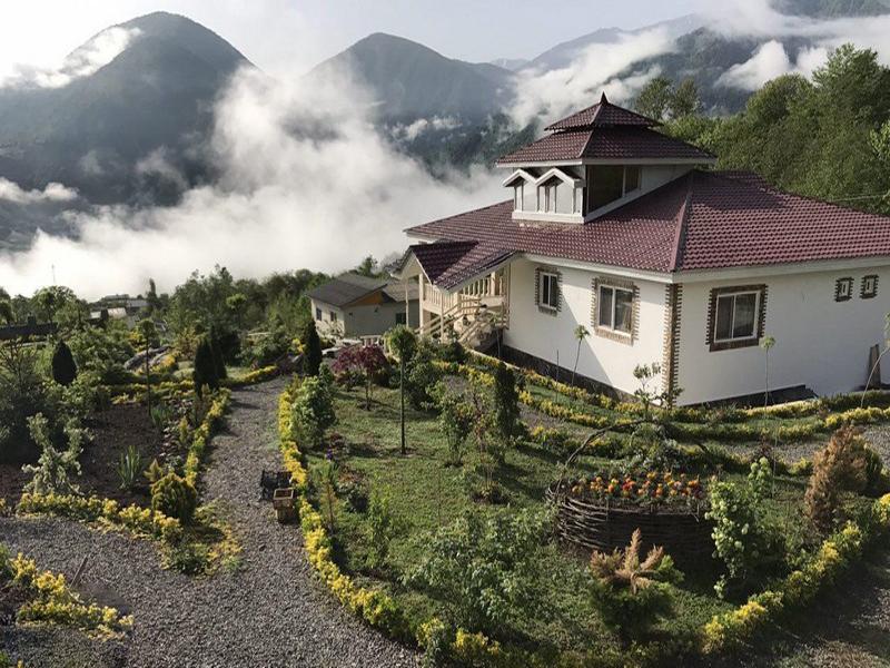 قرية لاويج هي نقطة جذب جميلة في مدينة نور في شمال إيران