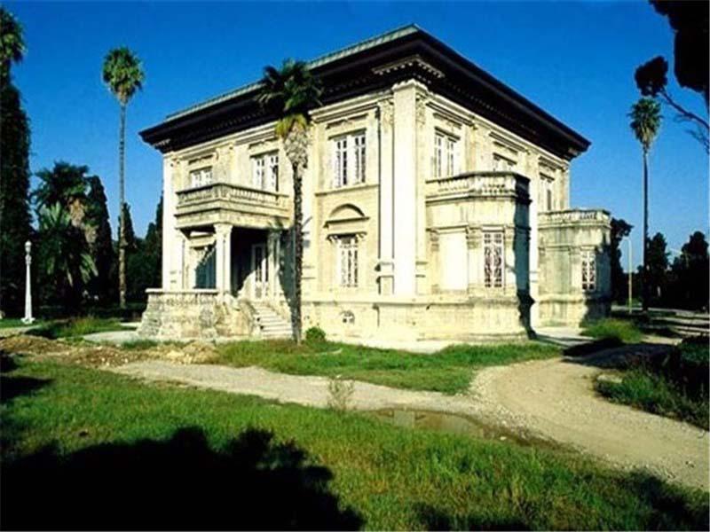قصر جايخوران في مدينة جالوس شمال إيران