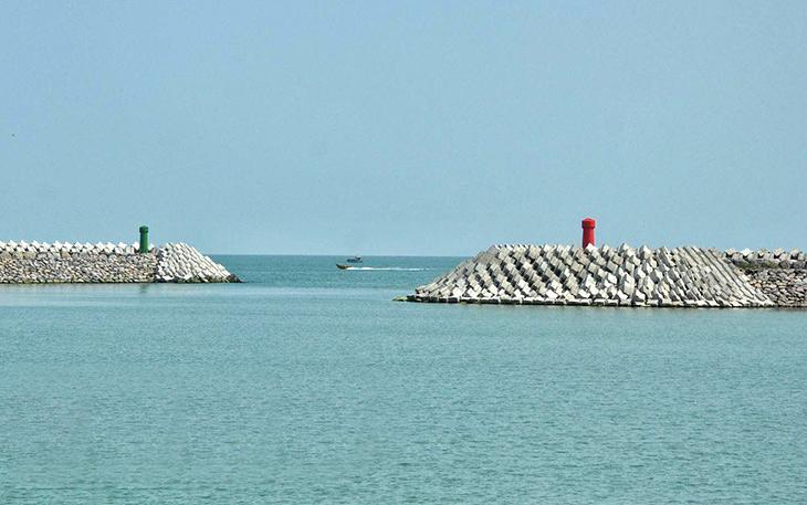 موانئ شمال إيران