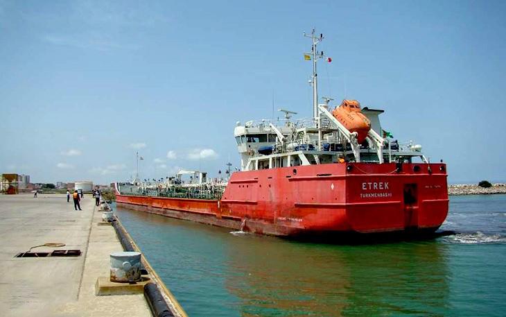 ميناء فريدون كنار في شمال إيران