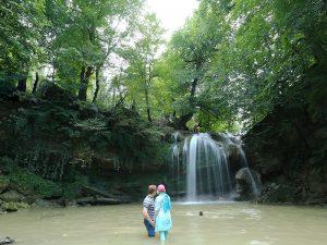 وادي إسكليم رود في شمال إيران