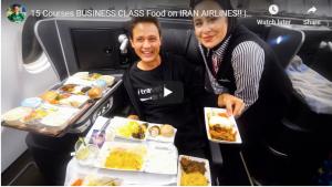 15 دورة دراسية في فئة الأعمال الغذائية على الخطوط الجوية الإيرانية !!