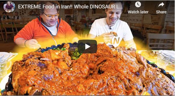 فن الطبخ وطهي الطعام في إيران