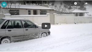 ثلج كلاردشت - الثلج في كلاردشت - الثلج في مدينة كلاردشت شمال إيران