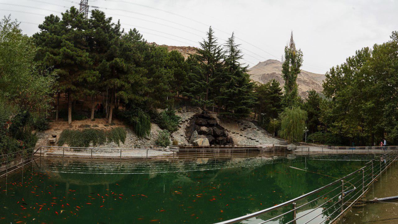 حديقة جمشيدية أهم وأروع حديقة عامة في طهران