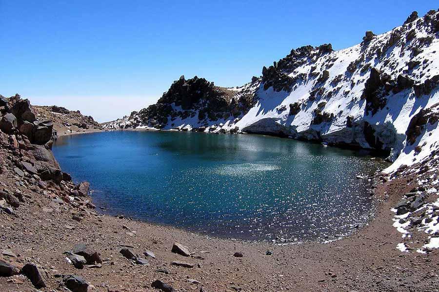 سبلان ، ثالث أعلى قمة في إيران