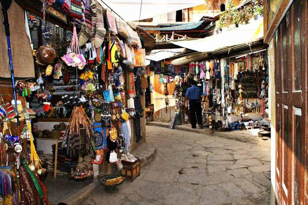 سوق ماسولة من مشاهد جيلان