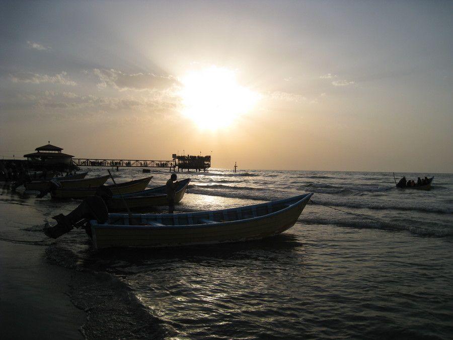 بحر قزوين في شمال- إيران