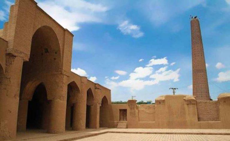 جامع فهرج في مدينة يزد الإيرانية
