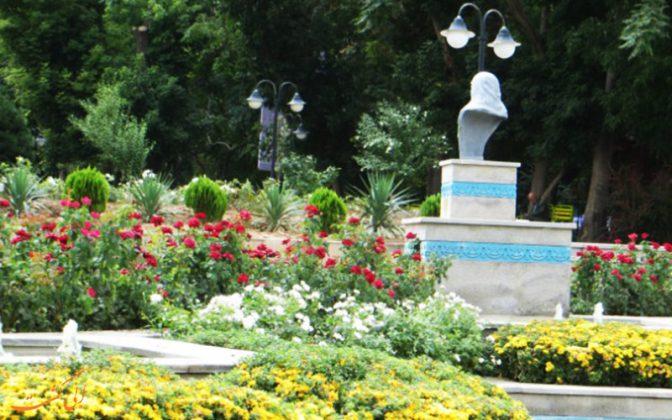 حديقة جولستان ، تبريز