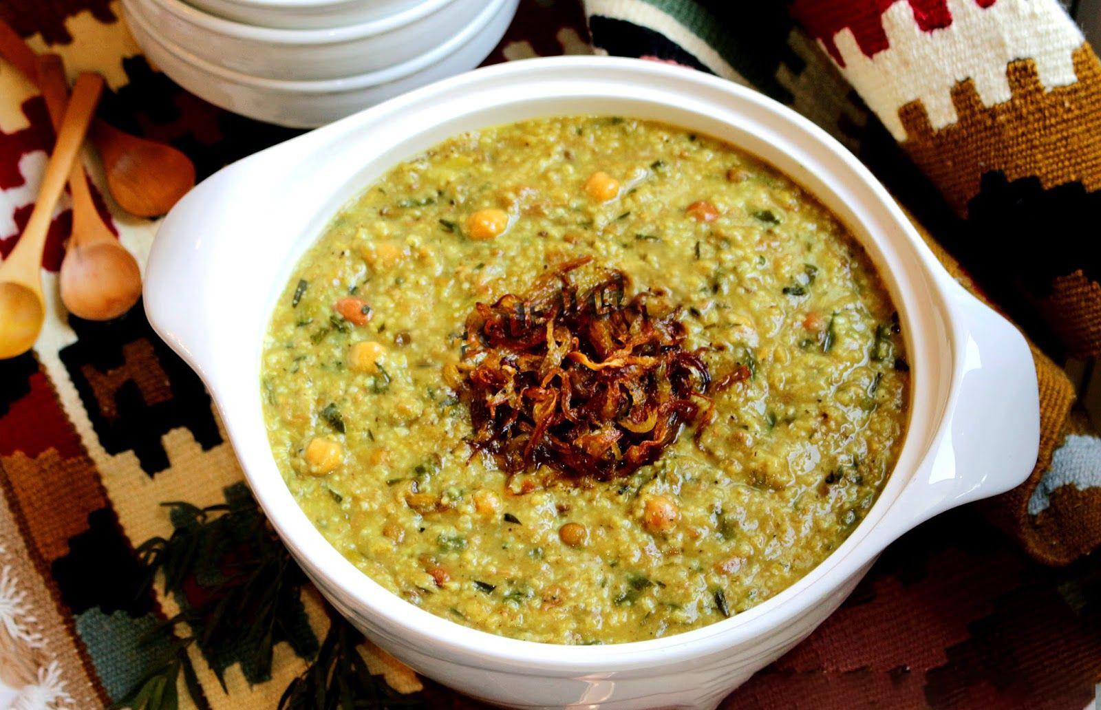 آش ماست (شوربا لبن) الشيرازي - مطعم شيراز